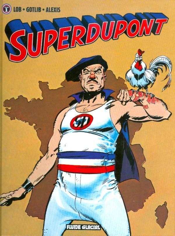 cf6e646a88 Superdupont é um super-herói baseado inteiramente em estereótipos franceses.