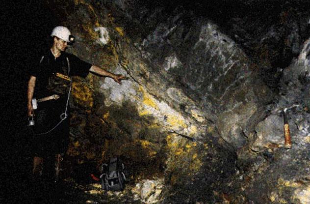 Reatores naturais mina