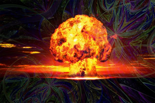 O Apocalipse nuclear bomba