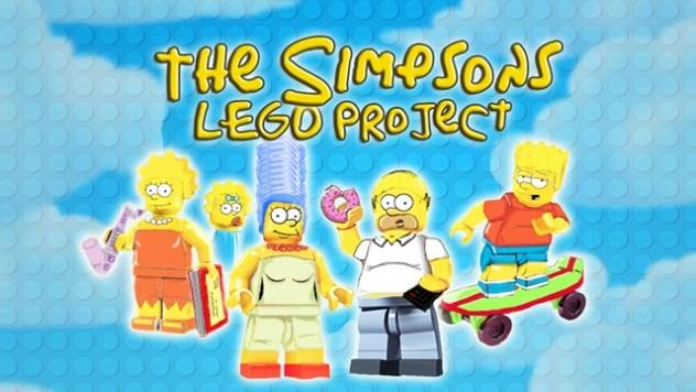 Os Simpsons lego