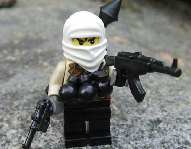 "O terrorista ""Mr. White"" lego"