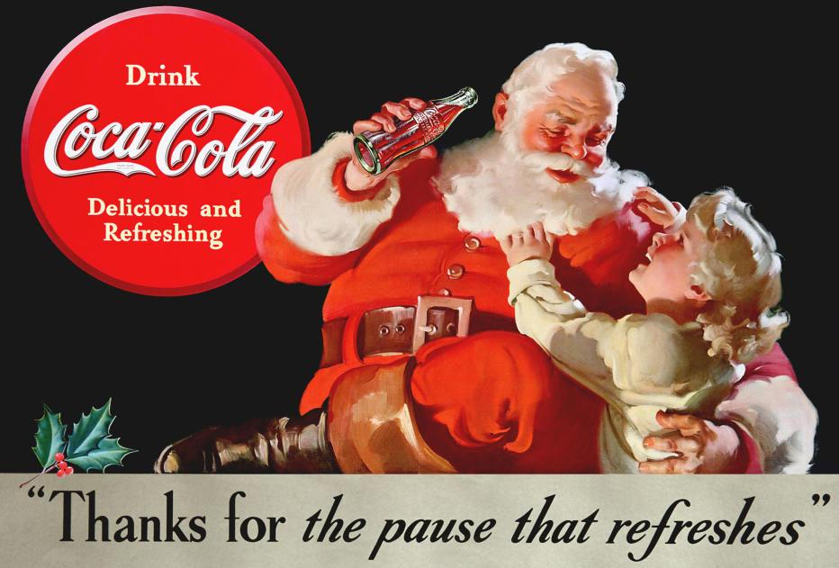Papai Noel Coca Cola