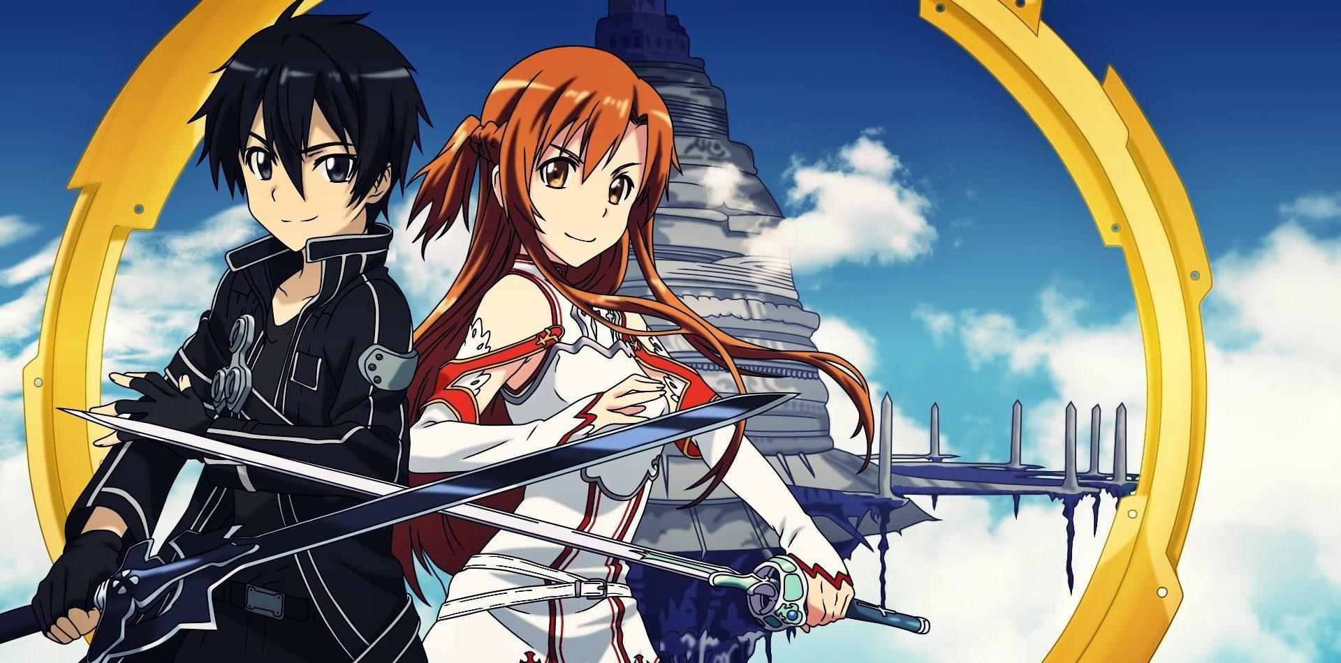 melhores animes - Sword Art Online