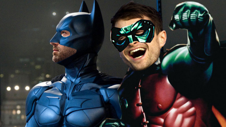 Daniel Radcliffe como Robin no reboot de Batman?