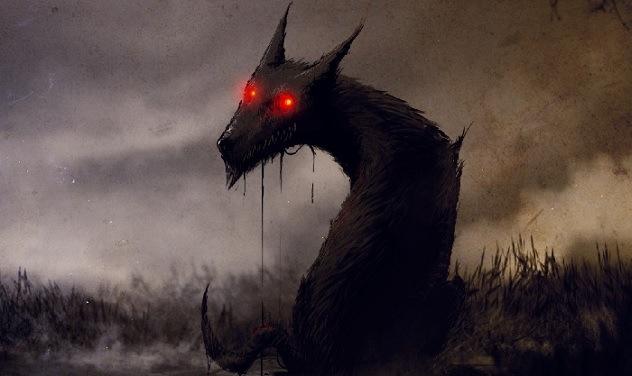 Cadejo Negro Cão