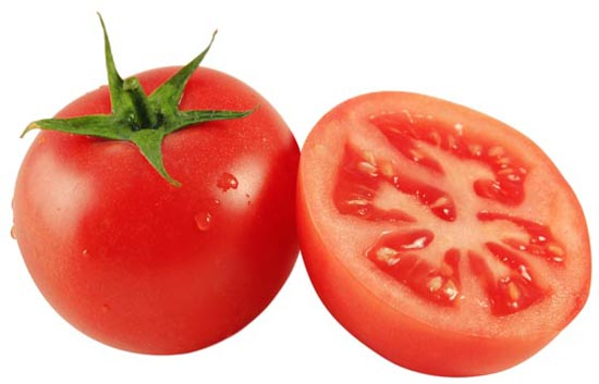 tomate cura acne