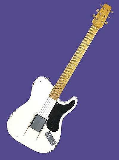 Guitarra 1949 Fender Broadcaster prototype 10