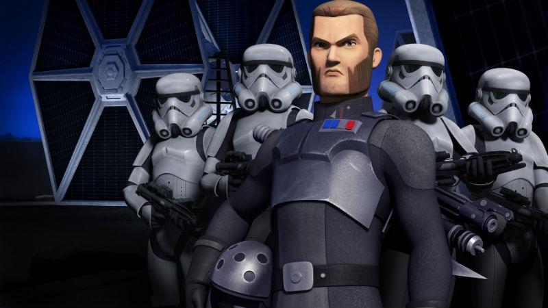 Star Wars Rebels divulga foto e vídeo do vilão Agent Kallus