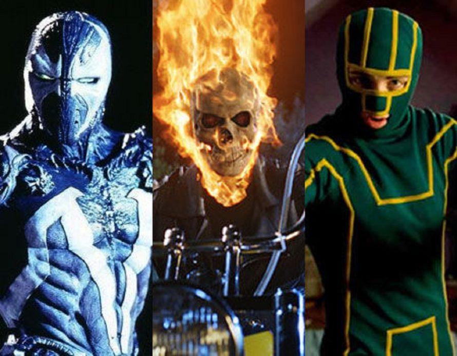 7 roupas de heróis nem tão boas e nem tão ruins