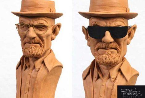 Artista brasileiro cria esculturas de personagens famosos com massa de modelar