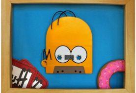 Verdadeiras obras de arte feitas com fitas cassete