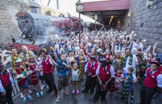 Expresso de Hogwarts já transportou mais de 1 milhão de passageiros
