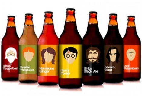 Brasileiro cria cervejas do Harry Potter