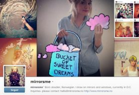 Conheça a dona das selfies mais criativas do Instagram