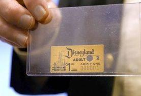 Primeiro ingresso da Disney foi vendido por 1 dólar