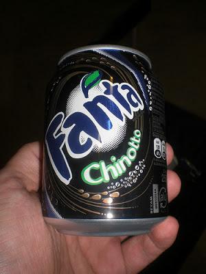 Fanta Chinotto (fruta da região) – Itália