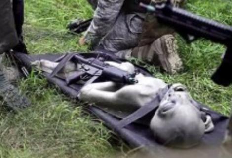 Suposto alien é encontrado por militares na França