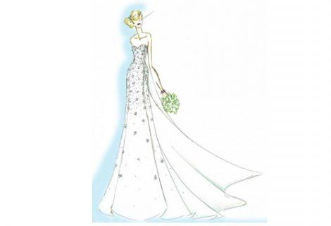 Disney produz vestido de noiva inspirado em suas princesas