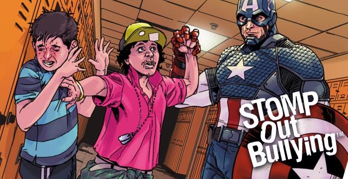 Marvel convoca seus super-heróis para combate ao bullying