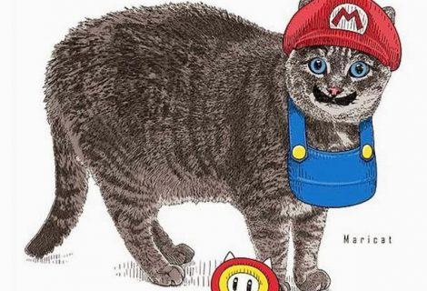Personagens icônicos se transformam em gatos