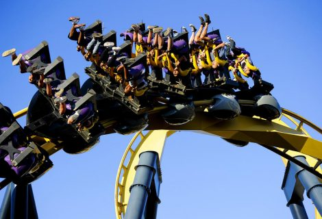 Batman: The Ride, a montanha russa mais aterrorizante do mundo