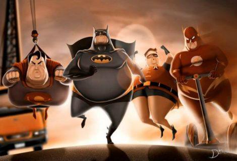 Super-Heróis ou Super Gordos?