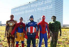 Fotos de super-heróis na vida real
