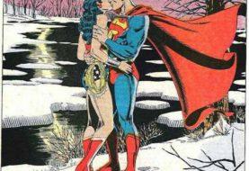 Super-Heróis em momentos românticos
