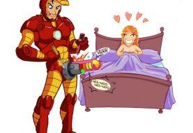 Super-heróis também fazem sexo