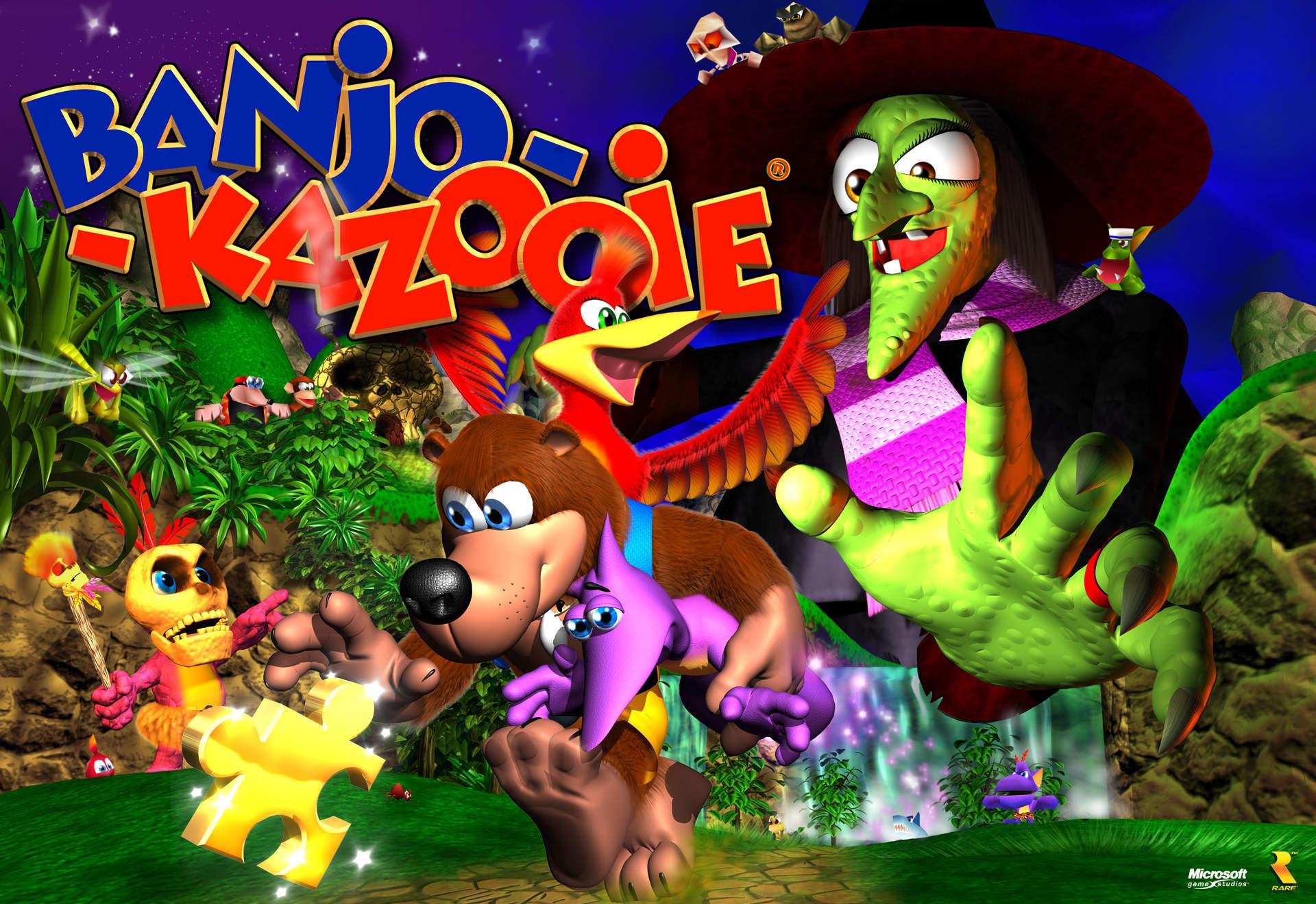"""Compositor dá a deixa para 2015: """"Este será um GRANDE ano para a Rare"""" Banjo-Kazooie"""