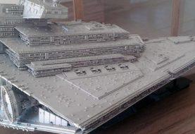 Fã cria Imperial Star Destroyer em Lego