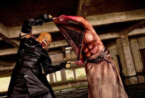 Nemesis vs Pyramid Head em uma batalha mortal