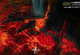 Artista cria diorama de Star Wars com 60 mil peças de Lego