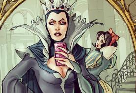 Como seriam as selfies dos personagens da Disney