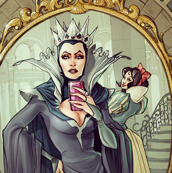 Como seriam as selfies dos personagens da disney ei nerd - Les plus beaux miroirs ...