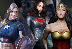 As versões femininas dos super-heróis