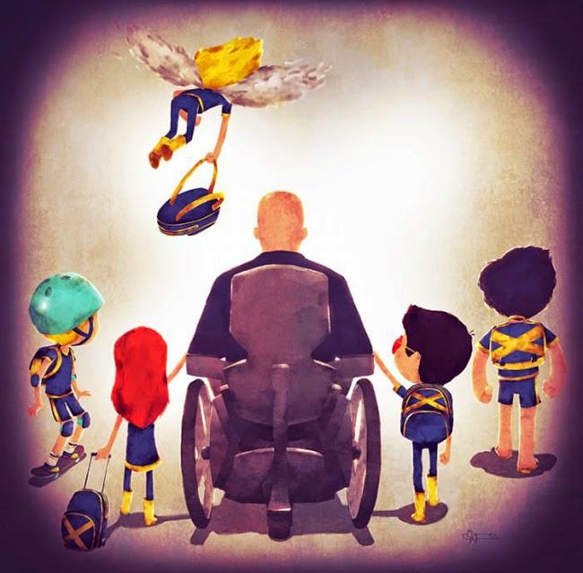 Super Pais: os super-heróis com seus filho