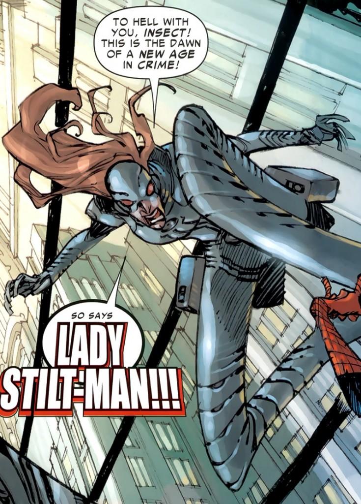 Lady Stilt-man