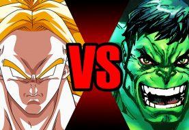 Broly vs Hulk em uma batalha mortal. Quem vence?