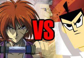 Samurai X vs Samurai Jack em uma batalha mortal