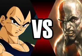 Vegeta vs Kratos em uma batalha mortal