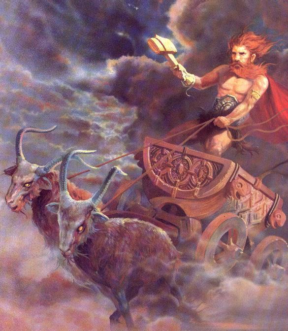 Resultado de imagem para deus thor mitologia