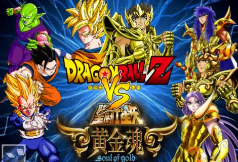 Os Cavaleiros de Ouro VS Os Guerreiros Z