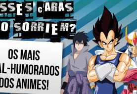 Top 10 mal-humorados da animes