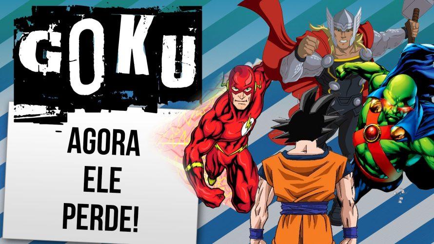 10 Super-heróis que venceriam goku facilmente