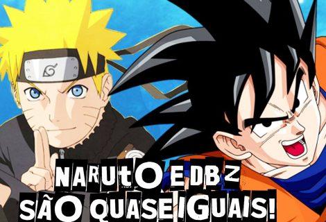 Naruto e Dragon Ball: Semelhanças impressionantes