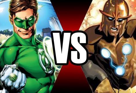 Lanterna verde vs Nova Prime | Batalha mortal