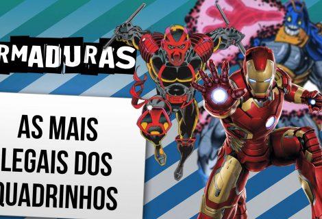 As armaduras mais legais dos quadrinhos