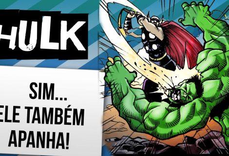 12 vezes que chutaram a bunda verde do hulk