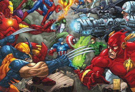 Marvel vai comprar a DC? Jim Lee comenta a possibilidade